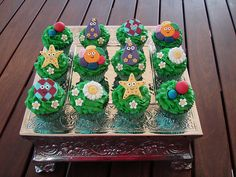 Mossy's masterpiece - In The Night Garden cupCakes