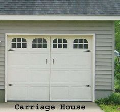 garage door decorations | ... - Garage Door Window Decals Add Decor to Your Driveway (GALLERY