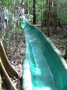 Tamarindo, Costa Rica Water slide, MUST DO!