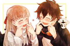 images about ・Kekkai Sensen・血界戦線・ on We Heart It Anime Couples Drawings, Anime Couples Manga, Anime Love Couple, Manga Couple, Anime Cosplay, Kawaii Anime, Cute Anime Coupes, Anime Siblings, Anime Friendship