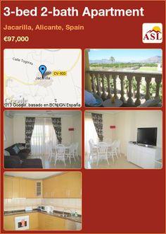 3-bed 2-bath Apartment in Jacarilla, Alicante, Spain ►€97,000 #PropertyForSaleInSpain