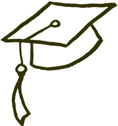 On Pinterest Drawing With Numbers How To Draw And Graduation Caps