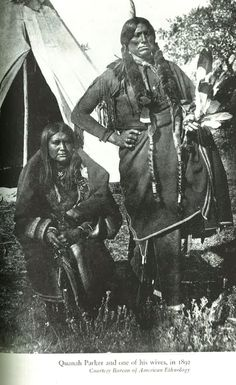 Here is a great picture of #QuanahParker from 1892! #Comanche
