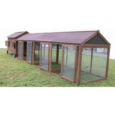 You'll love the Chicken Coop with Chicken Run at Wayfair - Great Deals on all Pet products with Free Shipping on most stuff, even the big stuff.