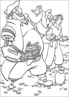 Tegninger til Farvelægning Skatteplaneten 53