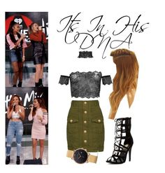 """""""Little Mix Fifth Member Love On The Brain Cover"""" by katiehorror ❤ liked on Polyvore featuring Balmain and Paul Hewitt"""