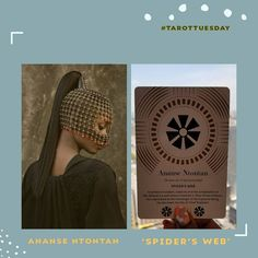 This week's #TarotTuesday pull is: 'Ananse Ntontan' = 'Spider's Web' . .  Everything you do right now needs to play into your bigger picture. It needs to be strategic and full of discernment  as the 'bad actors' are out in force. Infiltrating spaces meant for revolution, safety and legacy and filling them with confusion, angst and hopelessness. BE VIGILANT. You cannot get to your destination living out your steps on social media. You must let your ancestors take control of your steps to… The Messenger, Confusion, Big Picture, Tarot, Revolution, Spider, Freedom, Safety, African