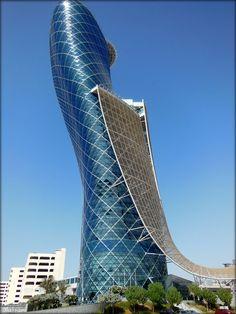 Capital Gate - Abu Dhabi - by Bassam