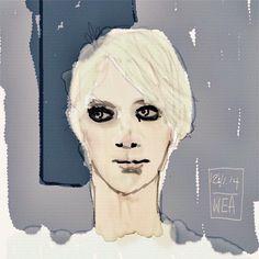 https://flic.kr/p/uMDk4K   By @warrandale created on iPad with Auryn Ink. #aurynink #auryninkapp #watercolour #digitalwatercolor