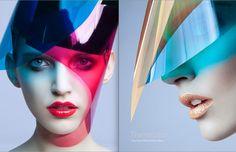 Dla magazynu;Moda zdjeci; Bartek Radwan,Winnow Photo Agency modelka; Anika Kluk , Mango Models hair & makeup Slawek Oszajca, Purple talents