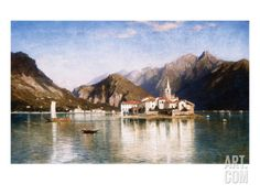 Lake Maggiore Giclee Print by William Stanley Haseltine at Art.com