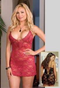 No plus size woman should be without a seductive lace chemise in her lingerie chest! Just slip this little lace number over your head and you can transform from ordinary to amorous, in moments!The st Sexy Lingerie, Plus Size Lingerie, Women Lingerie, Corset, Pin Up, Plus Size Cocktail Dresses, Costume, Lace Babydoll, Bustier