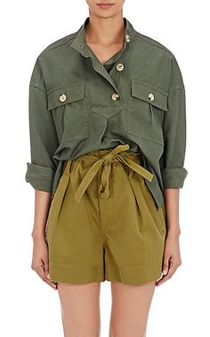 We Adore: The Ipa Cotton-Linen Top from Isabel Marant Étoile at Barneys New York