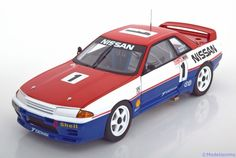 Nissan Skyline GT-R (R32), Winner Bathurst 1991, No.1, Richards/Skaife. Auto Art, 1/18, No.89180. 180€