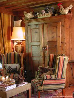 Rustic Cabin Decor, Western Decor, Country Decor, Cottage Living, Living Room, Wood Interior Design, Wood Interiors, Decoration, Vintage Decor