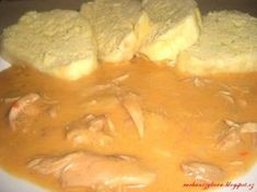 kura na paprike Slovak Recipes, Czech Recipes, Ethnic Recipes, Easy Cooking, Cooking Recipes, Warm Food, What To Cook, Diy Food, Thai Red Curry
