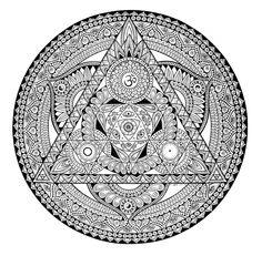 Mandala Designs, zombiecatlady: Mandalas by Kim Hauselberger Mandala Art Lesson, Mandala Drawing, Mandala Painting, Mandala Tattoo, Graffiti, Design Mandala, Sacred Geometry Art, Zentangle Drawings, Mandala Coloring Pages