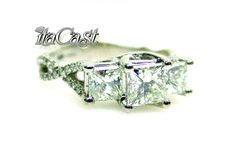 https://www.facebook.com/pages/Itacast-Jewellery/101590159910440?hc_location=timeline  vintage style diamond engagement ring princess cut