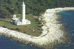 Veli Rat, Croatia: lighthouse transformed into apartments
