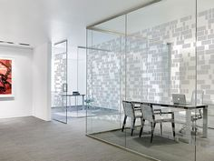 Tektura - Bricks window film