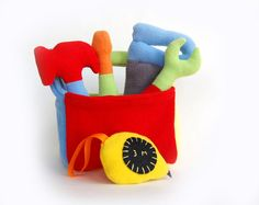 Tool Box Soft Plush soft felt Toy