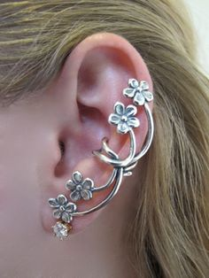 I want it!!!    Marty Magic Store - Forget Me Not Ear Cuff Silver, $59.00 (http://www.martymagic.com/products/Forget-Me-Not-Ear-Cuff.html)