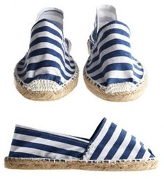 Love! nautical summer shoes