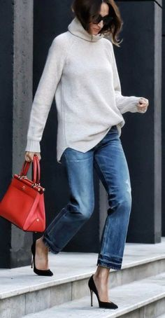Women Jeans Outfit Womens Padded Jacket With Fur Hood Green Velvet Trousers Mustard Trousers Pants Man Gauze Pants Jeans And Heels Outfit – orchidrlily Heels Outfits, Outfit Jeans, Fall Outfits, Casual Outfits, Fashion Outfits, Casual Heels Outfit, Outfit Winter, Outfit Summer, Modest Outfits