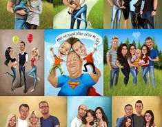"Check out new work on my @Behance portfolio: ""Caricature commissions- three or more people"" http://be.net/gallery/61583777/Caricature-commissions-three-or-more-people"