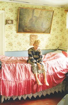 Wallpaper, textiles, TIM WALKER PER VOGUE