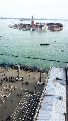Piazza San Marco e San Giorgio Maggiore, Venezia