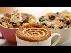 1 Minute Microwave Mug Breakfasts (with Egg-Free recipes) - Gemma's Bigger Bolder Baking Ep 76 - YouTube