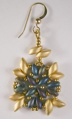 Inspiration:  Deb Roberti's Athena Bracelet  Earrings