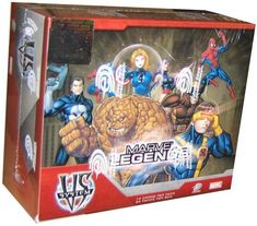 Marvel VS System Trading Card Game Marvel Legends Booster Box 24 Packs -- Want additional info? Click on the image.