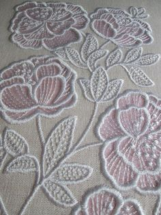 Awesome Most Popular Embroidery Patterns Ideas. Most Popular Embroidery Patterns Ideas. Embroidery Stitches Tutorial, Flower Embroidery Designs, Machine Embroidery Patterns, Embroidery Techniques, Flower Designs, Applique Designs, Embroidery Ideas, Hardanger Embroidery, Learn Embroidery