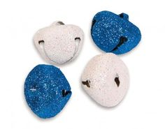 Glitter Frosted Jingle Bells - Perfect for Christmas | the littlecraftybugs company