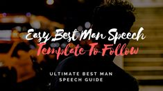 "Delivering a perfect best man wedding speech is a challenging responsibility for many men. While developing such a Best Man's Speech, one of the main dilemmas many ""Best Men"" face is to decide on whether to crack everyone up or to kee"