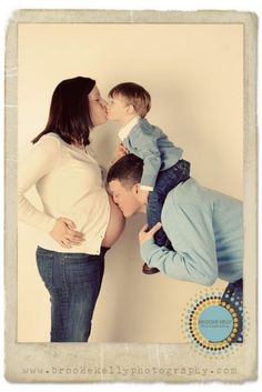 Pregnancy Announcement...Umm..I think everyone already knows about the pregnancy, but it is a cute photo idea. :)