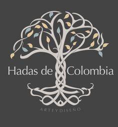 Logotipo para proyecto artesanal- Hadas de Colombia ©2018 Home Decor, Craft Projects, Logos, Fairies, Colombia, Homemade Home Decor, Decoration Home, Interior Decorating