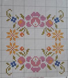 Cross Stitch Borders, Cross Stitch Flowers, Cross Stitch Patterns, Crewel Embroidery, Embroidery Patterns, Crochet Patterns, Yard Art, Needlework, Kids Rugs