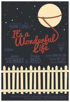 It's a Wonderful Life #alternate #movie #poster #art