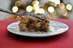 Eggnog Breakfast Crumble Crunch Cake....need I say more? I think this is going to be made Christmas morning!