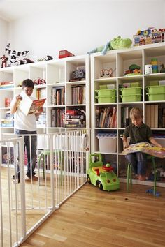 Using Baby Gates To Divide A Room — IKEA Family Live
