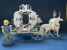 3D Quilling Cinderella and coach