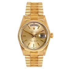 52a84493963 gold rolex presidentiaL watch 40mm - Google Search Relógios Rolex Para  Homens