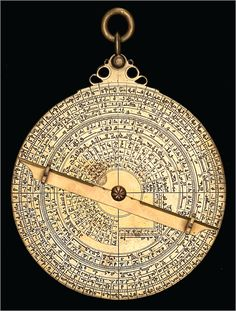 Muḥammad ibn Saʻīd as-Ṣabbān, Astrolabe, 1081-1082, Brass, Hispano-Moorish. Diameter: 13.8 cm. Courtesy of the Museum of the History of Science (http://www.mhs.ox.ac.uk/), Oxford, United Kingdom.
