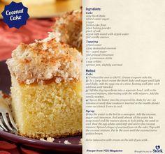 Coconut Cake #recipe Cake Cookies, Cupcake Cakes, Cupcakes, Cake Recipes, Dessert Recipes, Desserts, Coconut Recipes, Cake Flour, Let Them Eat Cake