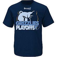 81cb19c313fb NBA Exclusive Collection Memphis Grizzlies Playoffs T-Shirt Memphis  Grizzlies