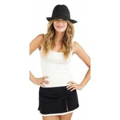 Gottex 2013 Andros Black Hat #southbeach #beach #black #hat