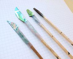 homemade calligraphy pen
